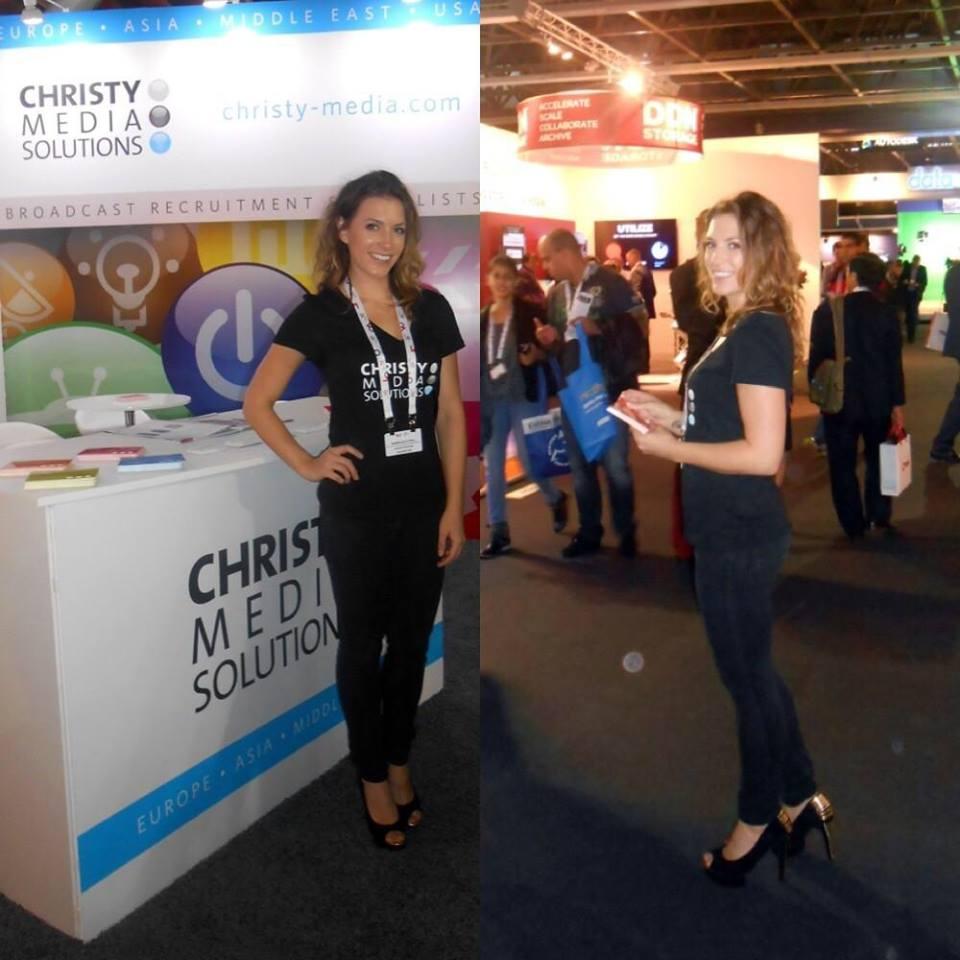 Exhibition Girls At Ibc Amsterdam 2014 Exhibition Girls