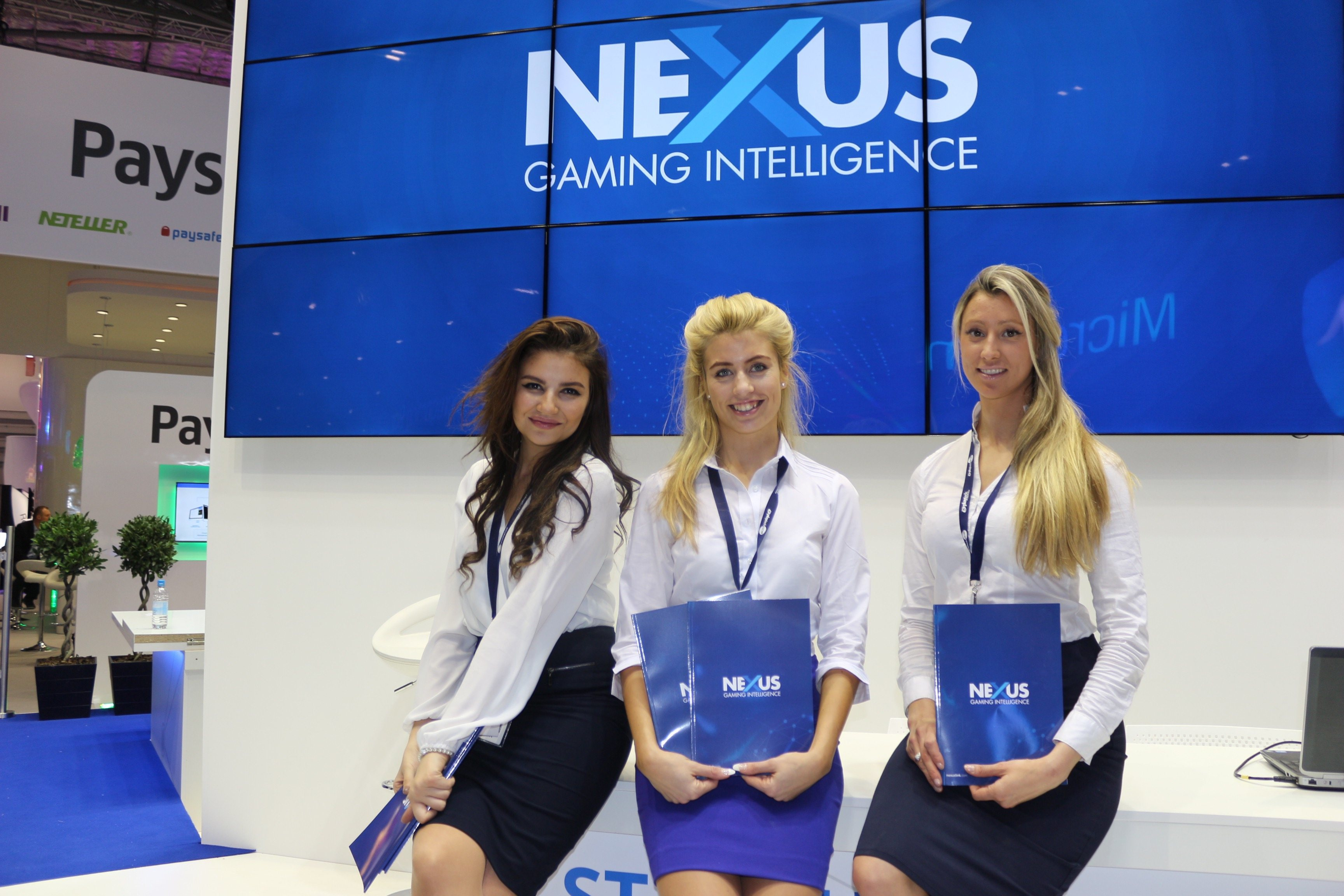 ICE Gaming London Promo Girls