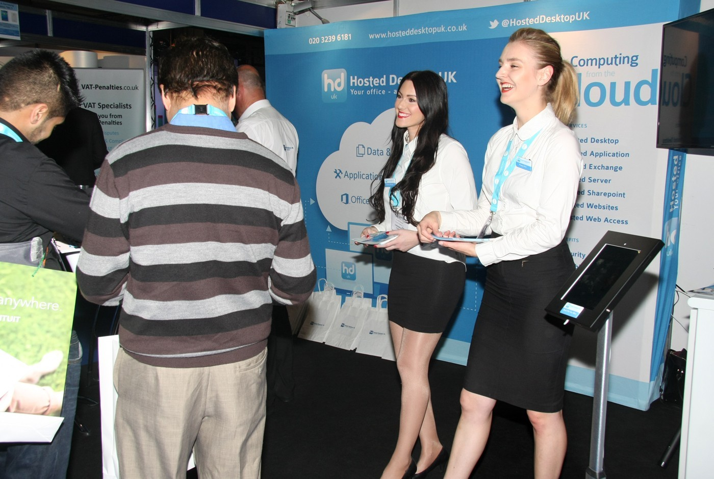 Exhibition Stand Hostess : Exhibition stand hostesses available in rust germany