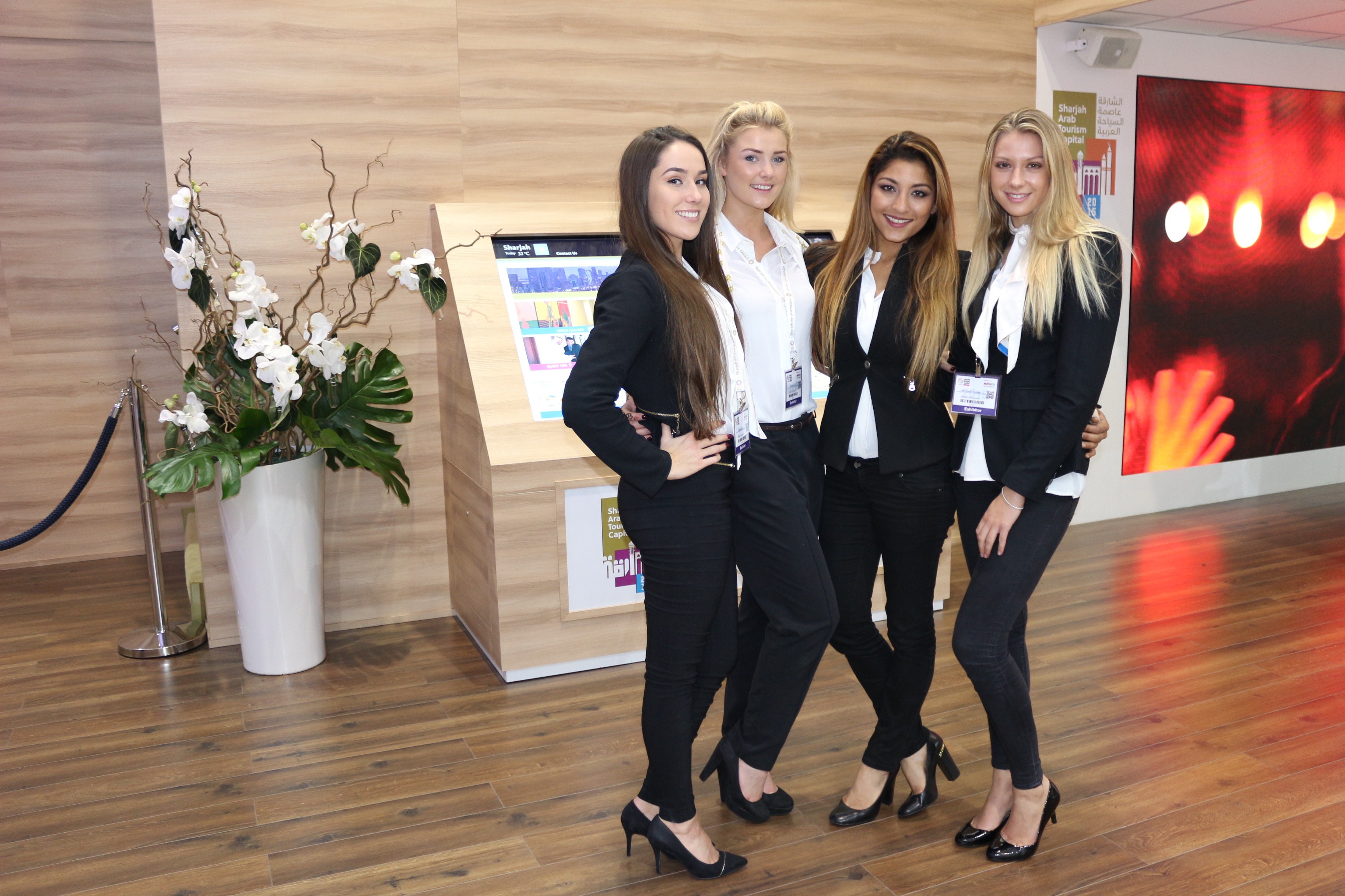 Exhibition Stand Hire Newcastle : Exhibition stand hostesses girls