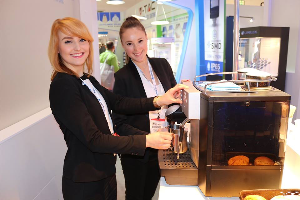 Exhibition Staff at the Facilities Show