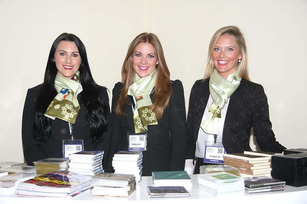 Exhibition Girls Receptionists