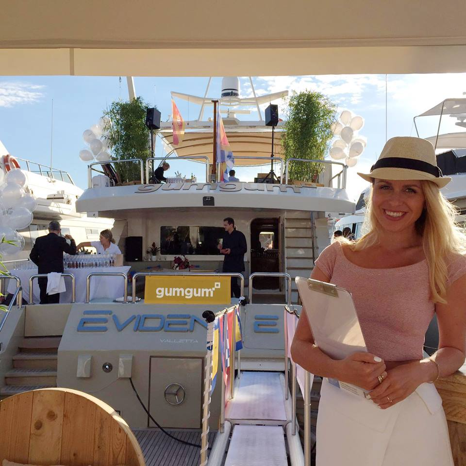Exhibition Girls Cannes Yacht Festival