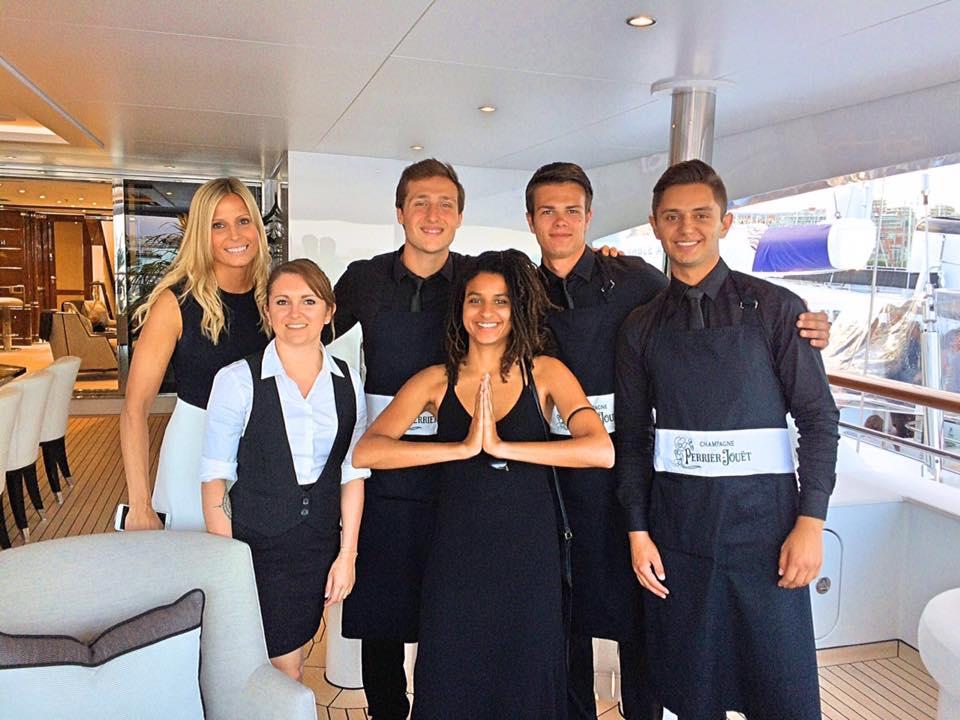 Exhibition Girls Staff Cannes Yacht Festival