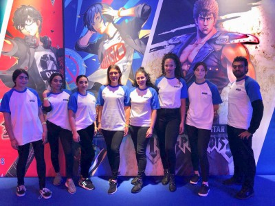 Exhibition Staff at the EGX NEC Birmingham Event-min