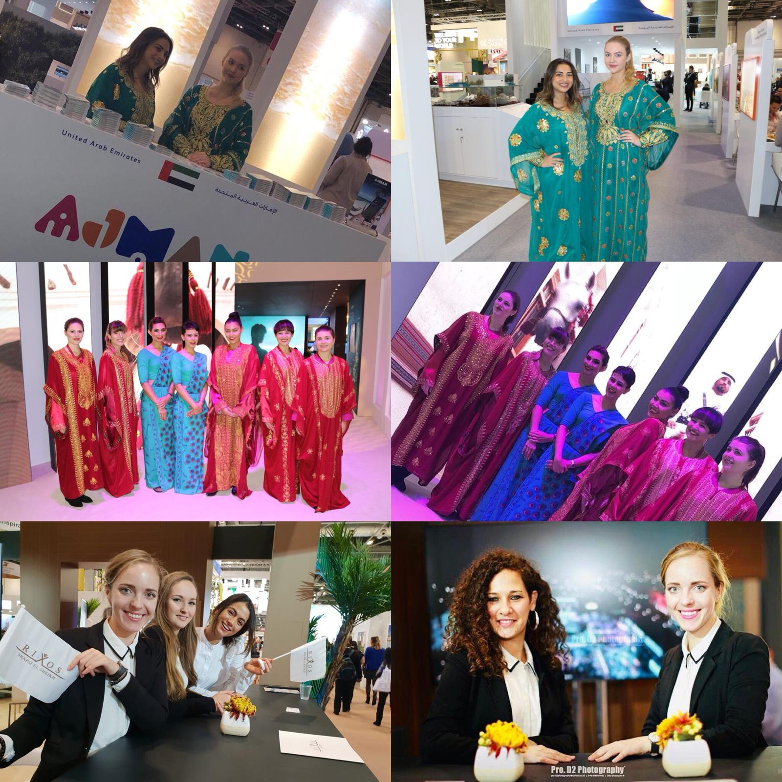 Promotion Staff for World Travel Market at ExCel London