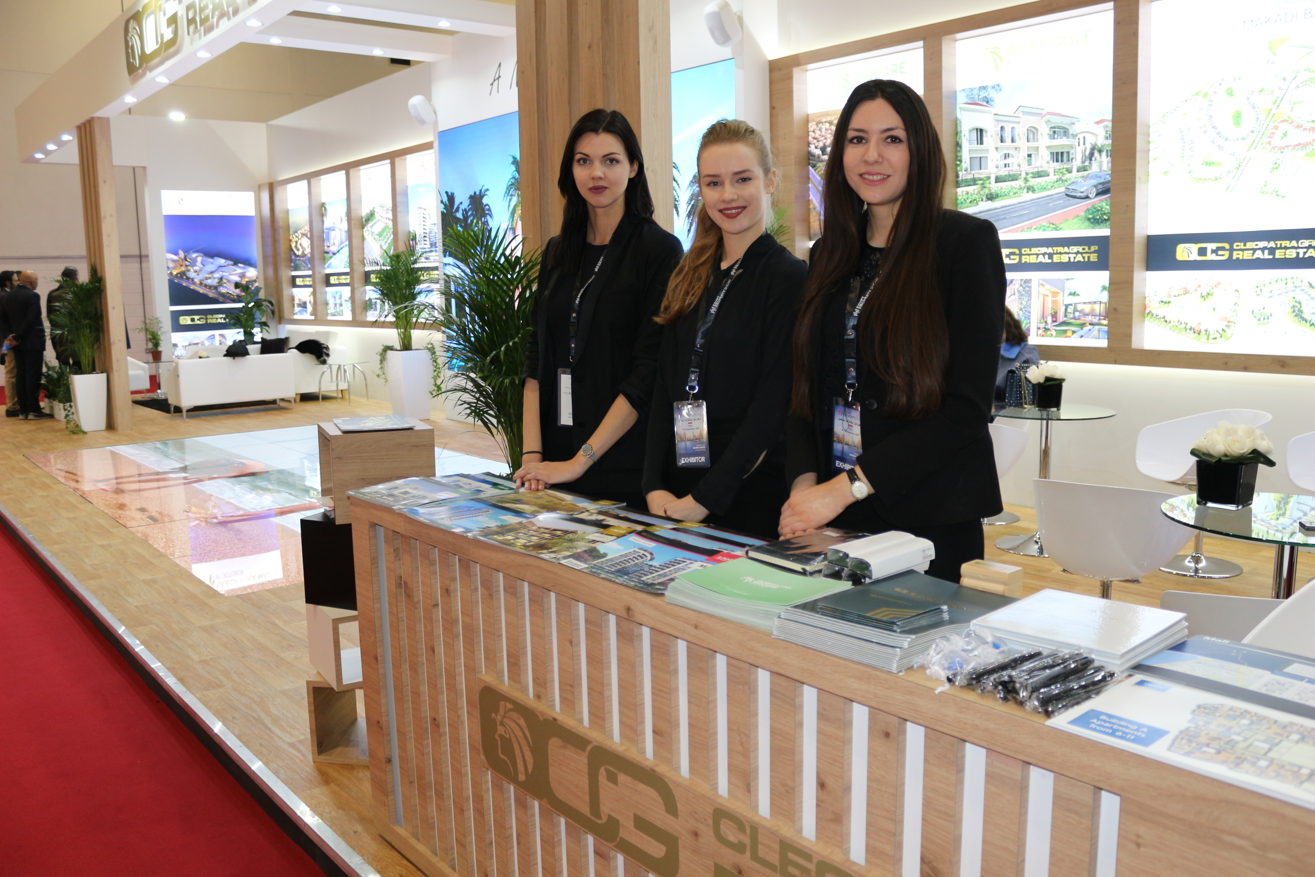 Hostess Agency for Egypt Property Show at ExCel London