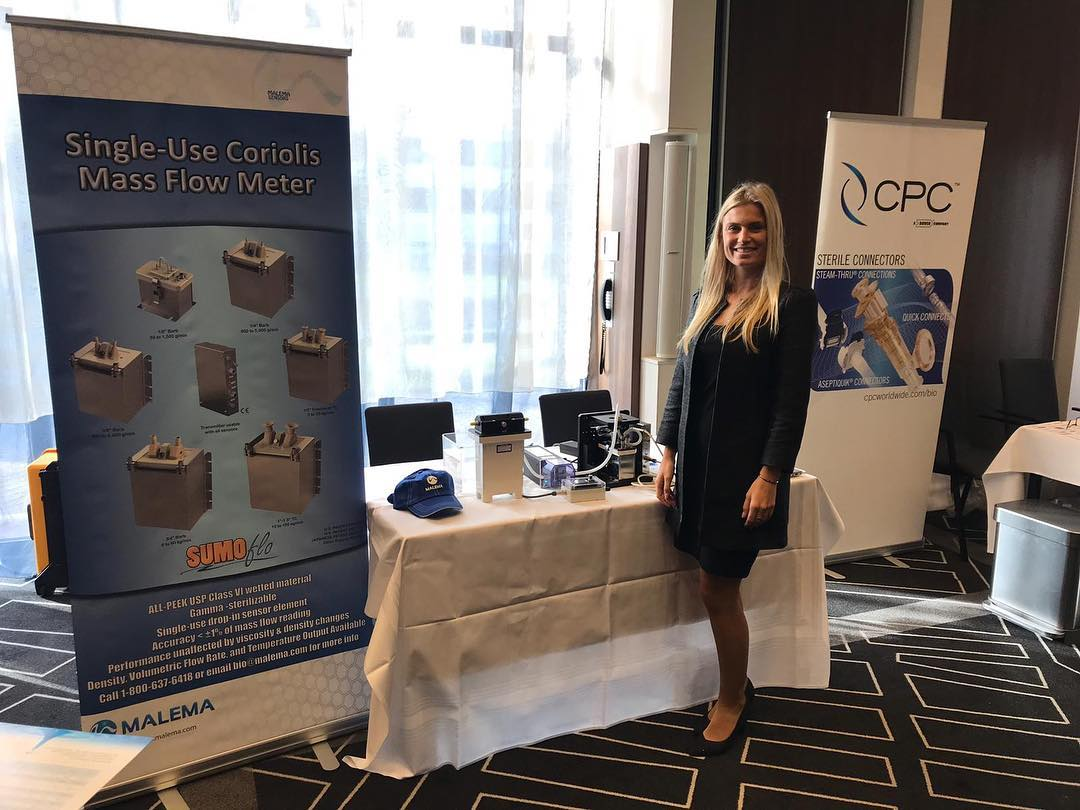 Promo Girls for The Disposable Solutions for Biomanufacturing Forum 2019 at Novotel Hotel Amsterdam