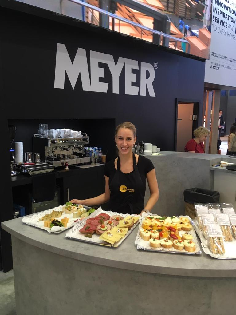 Promo Girls for Ambiente at Messe Frankfurt