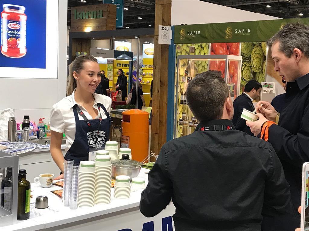 Exhibition Staff at Bauma Messe Munich