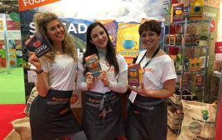 Exhibition staff at London