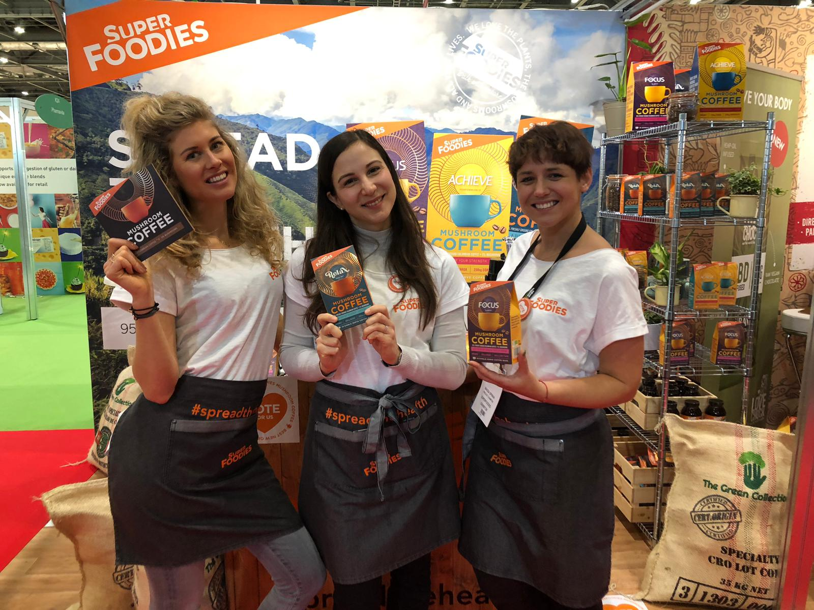 Exhibition Staff at the Natural Organics Show ExCel London