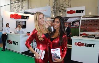 Promotion Girls at the Amsterdam RAI