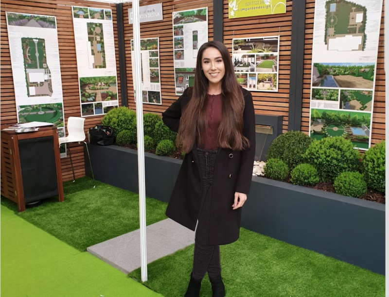 exhibition staff at the ideal home show olympia