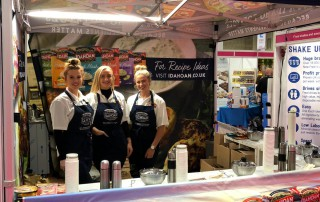 exhibition staff at the national convenience show at the nec birmingham