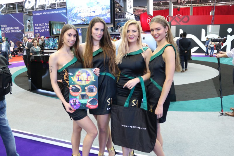 exhibition staffing at ICE Gaming