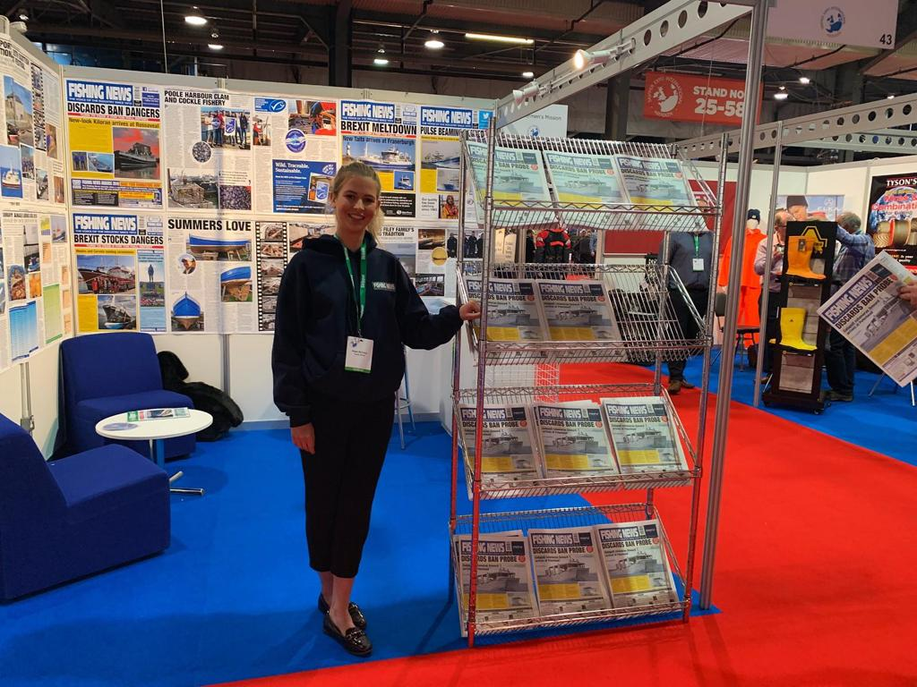 Exhibition Stand Builders Leicester : Exhibition staff for skipper expo at aberdeen exhibition