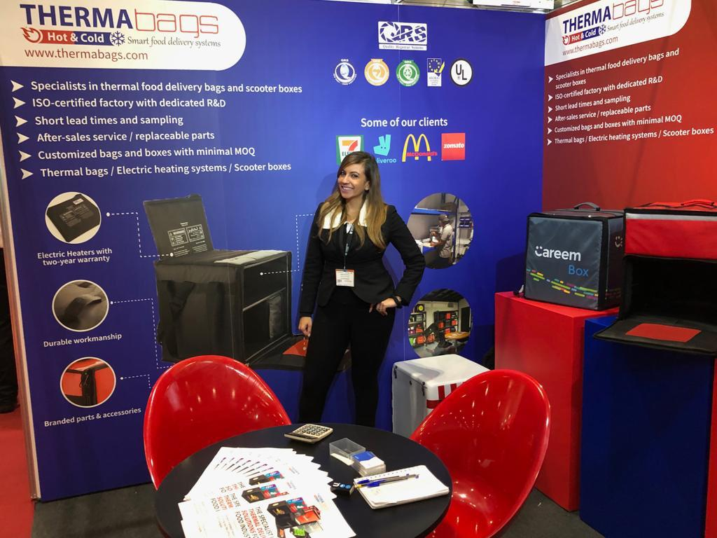 Exhibition Staff for hire at The Restaurant & Takeaway Innovation Expo at Olympia London