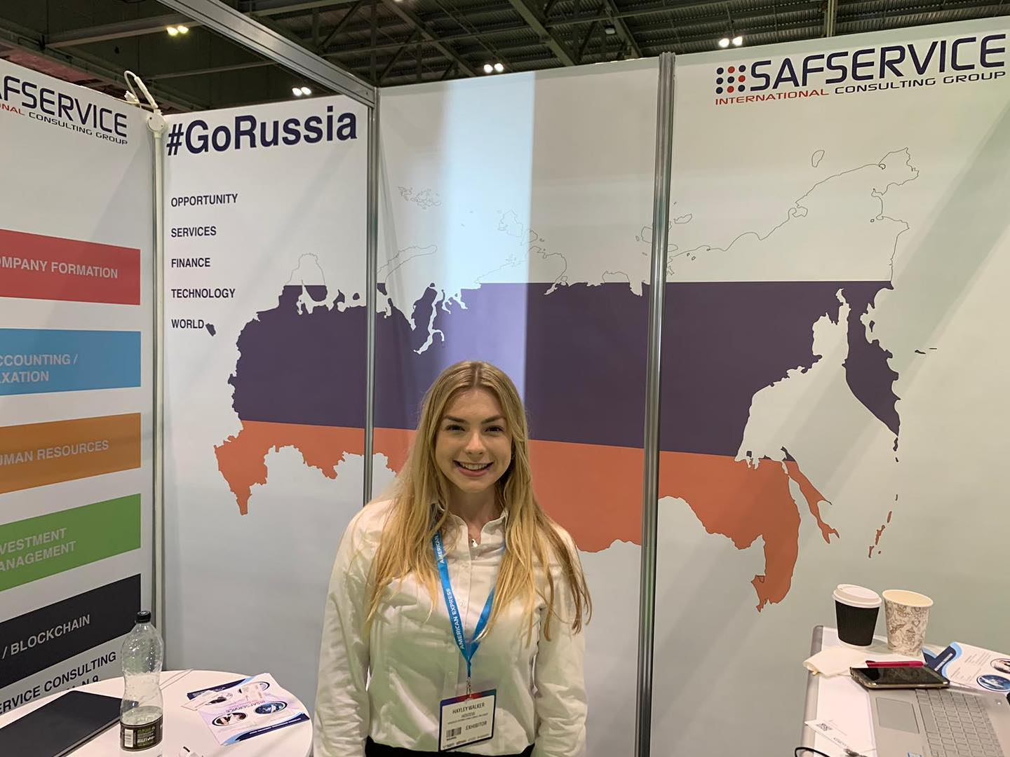 Exhibition Staff for hire at Going Global 2019 at ExCel London